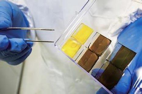 日本提高鈣鈦礦太陽能電池轉換率